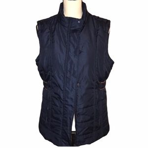 Sporto Bubble Vest Navy Blue Size Medium